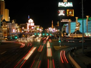 Las Vegas - Strip bei Nacht