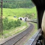 Transsibirische Eisenbahn Tunnel
