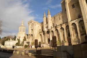 Historische Burg in Avignon
