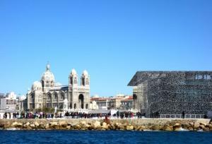Die Cathédrale de la Major in Marseille