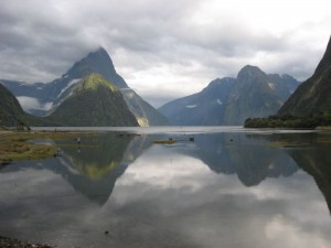 Der Milford Sound Fjord