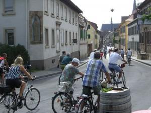 Reisezeit Weinstraße Fahrrad