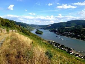 Der Rhein auf dem Weg in Richtung Nordsee
