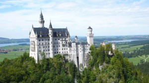 Das wunderschöne Schloss Neuschwanstein