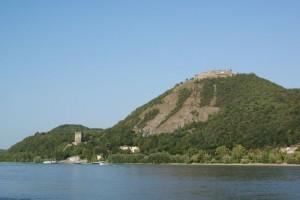 Blick auf die Donau und Visegrad