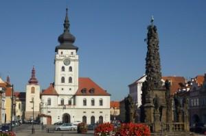 Auch Zatec bietet für Touristen einige Sehenswürdigkeiten