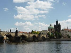 Die berühmte Prager Karlsbrücke