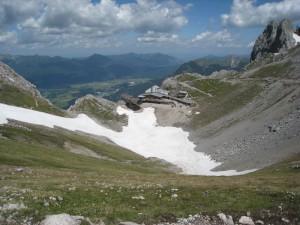 Hütte auf dem Karwendel