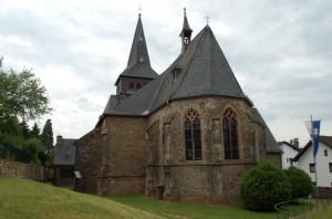 Die St. Laurentiuskirche in Marmagen