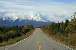 Die Panamericana startet in Alaska