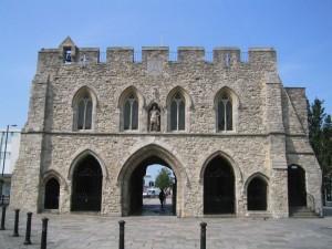 Eines der Sehenswürdigkeiten von Southampton - Das Bargate