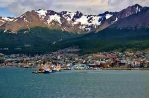 Der Hafen von Ushuaia